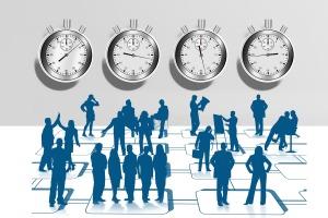 stopwatch-tiempo de trabajo y horas extra